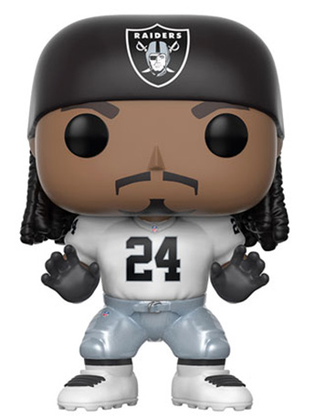 Pop! Football: Raiders - Marshawn Lynch (Away)