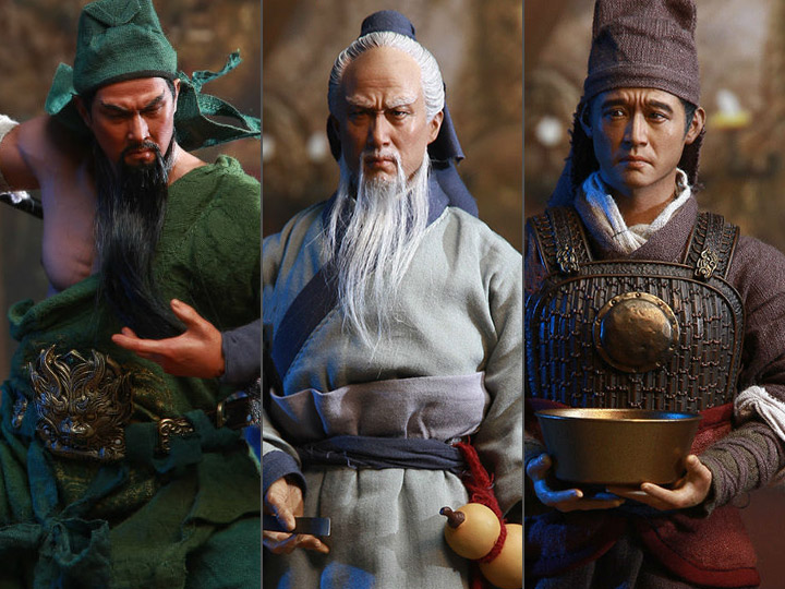 Three Kingdoms SHCC 2018 Exclusive Collectible Set A