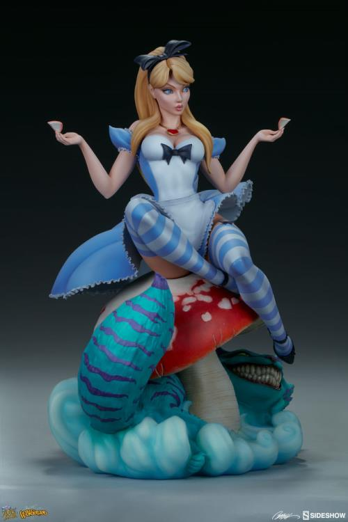 Fairytale Fantasies Collection Alice in Wonderland Statue