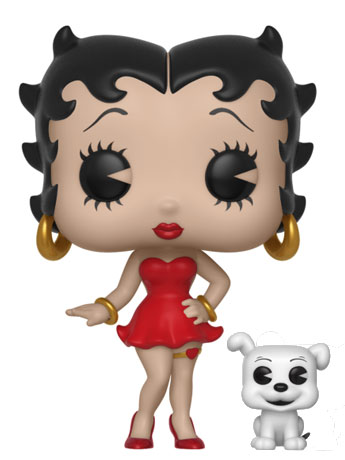 Pop! Animation: Betty Boop - Betty Boop with Pudgy