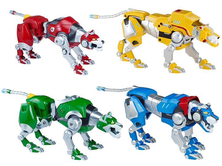 Voltron Legendary Defender In Coloring Pages: Voltron The Legendary Defender Lion Figure