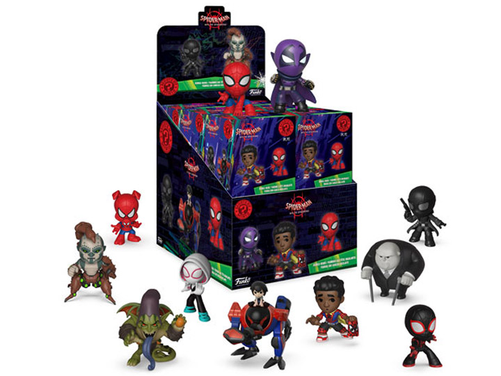 Spider Man Into The Spider Verse Mystery Minis Box Of 12 Figures