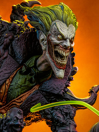 DC Comics Gotham City Nightmare Collection Joker Statue