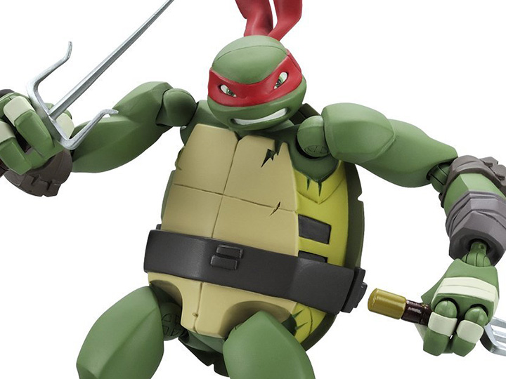 Teenage Mutant Ninja Turtles 2012 Neuralizer Toy : Tmnt revoltech raphael reproduction