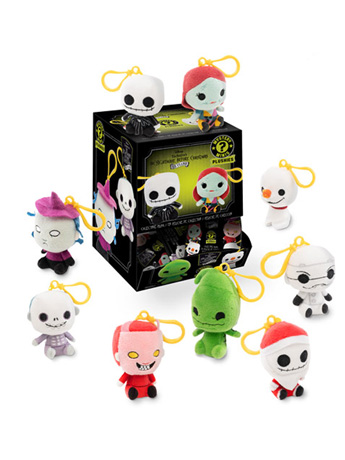 The Nightmare Before Christmas Mystery Minis Box of 18 Plush Keychains