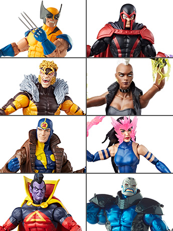 X-Men Legends Set In Stock!