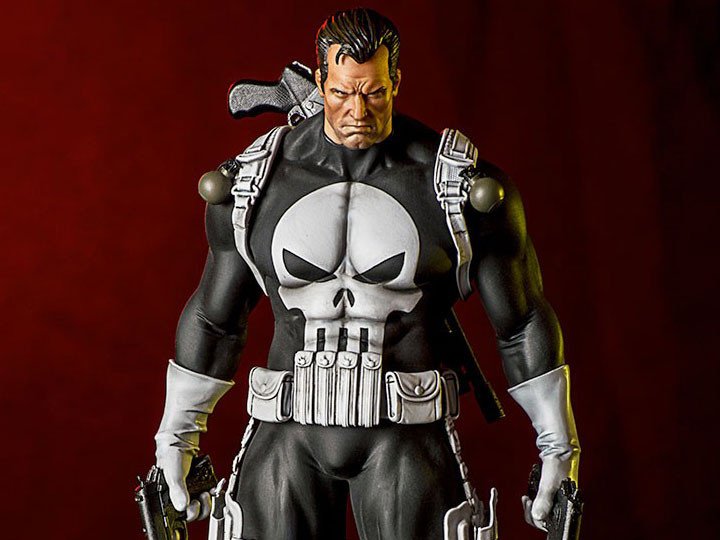 marvel comics punisher 1 10 art scale statue