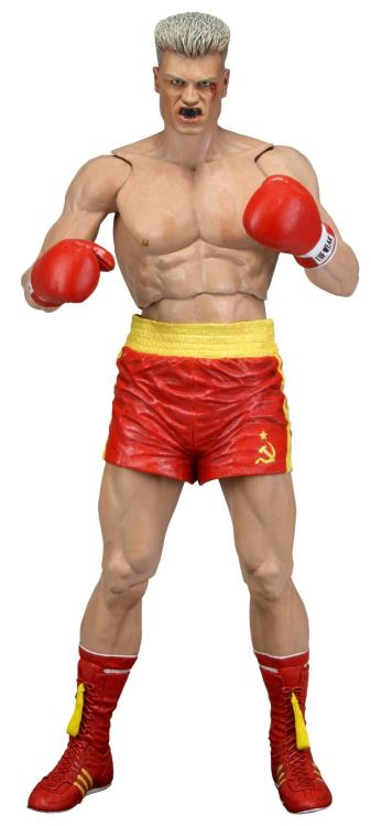 Rocky 40th Anniversary Ivan Drago (Red Trunks) Figure