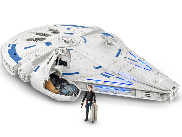 star wars force link 2 0 kessel run millennium falcon solo a star wars story. Black Bedroom Furniture Sets. Home Design Ideas