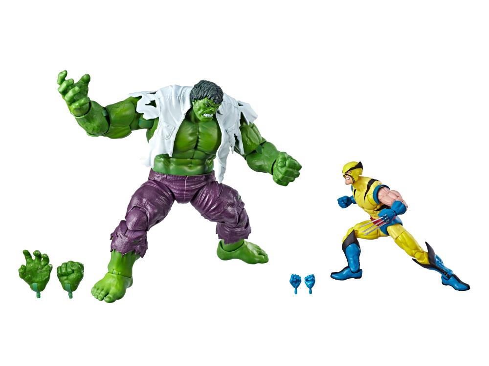 Marvel Comics 80th Anniversary Marvel Legends Hulk Vs