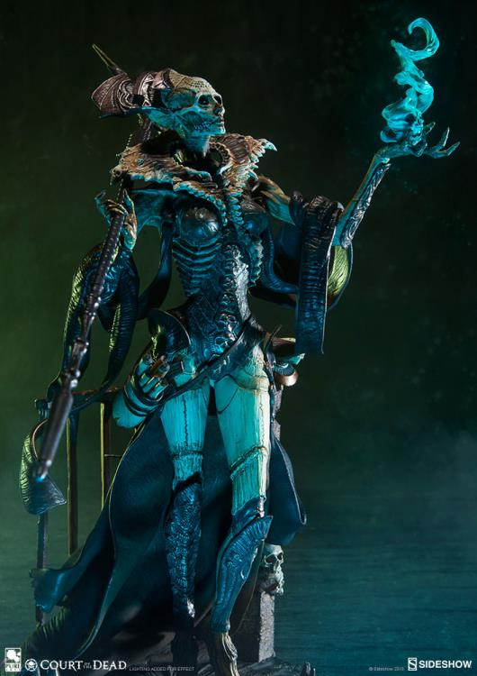 Court of the Dead Xiall (Osteomancers Vision) Statuette