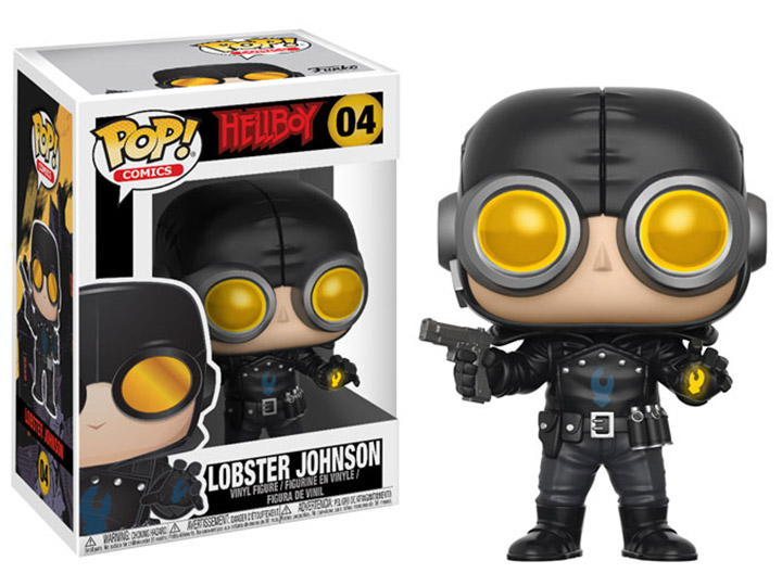 Pop Comics Hellboy Lobster Johnson