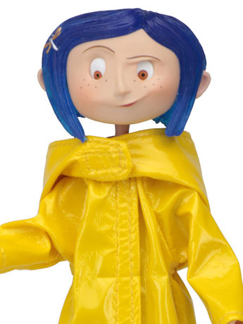 Coraline (Rain Coat) Bendy Fashion Doll