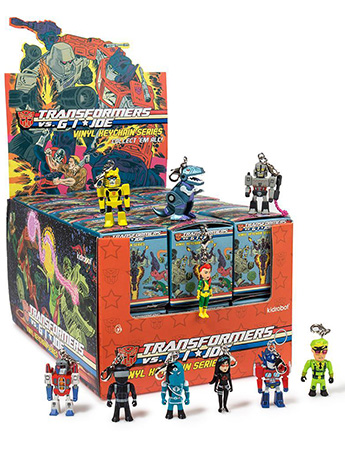 Transformers vs. G.I. Joe Box of 24 Keychains