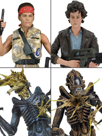 Aliens Series 12 Case of 14 Figures