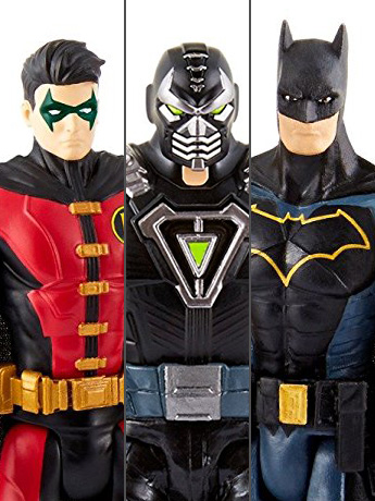 "Batman Missions 6"" Batman & Robin Vs. Bane Three Pack"