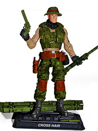 G.I. Joe Cross Hair Subscription Figure 6.0