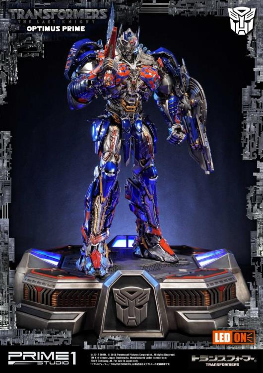 Transformers: The Last Knight Museum Masterline Optimus Prime Statue