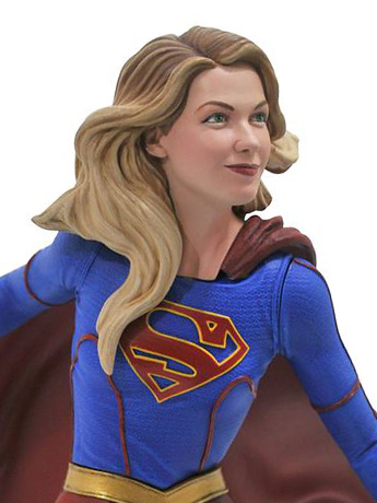 Supergirl Gallery Statue