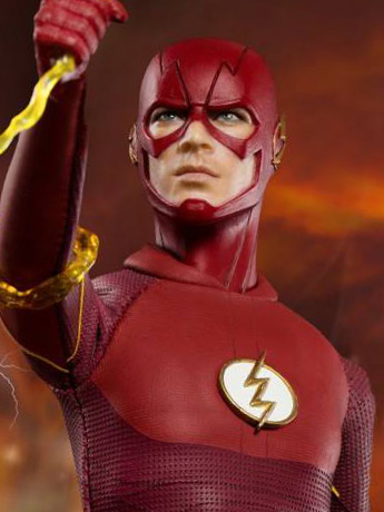 The Flash Real Master Series 1/8 Scale Figure