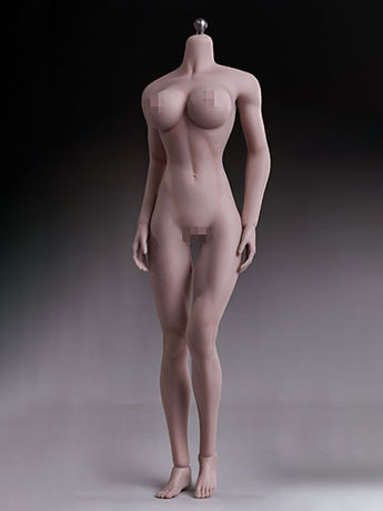 Super-Flexible 1/6 Scale Seamless Female Body 5th Generation (Suntan Large Bust)