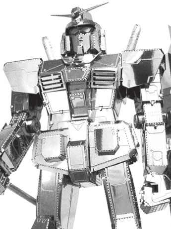Gundam Metal Earth ICONX RX-78-2 Gundam Model Kit