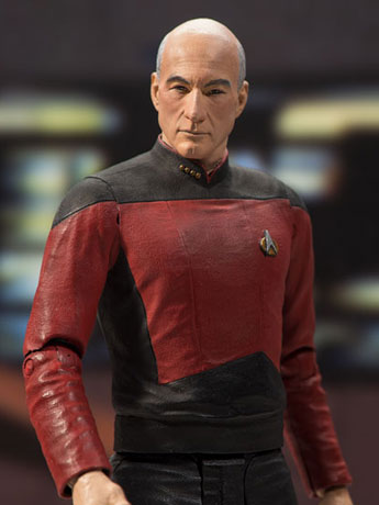 Star Trek Captain Jean-Luc Picard Action Figure