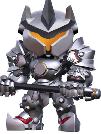 "Pop! Games: Overwatch - 6"" Super Sized Reinhardt"