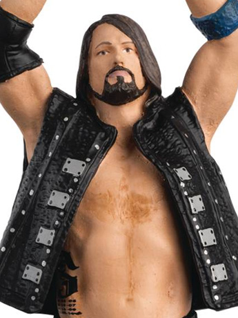 WWE Figurine Championship Collection #1 AJ Styles