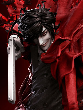 Hellsing Ultimate Elite Exclusive Alucard 1/4 Scale Statue (LE 400)