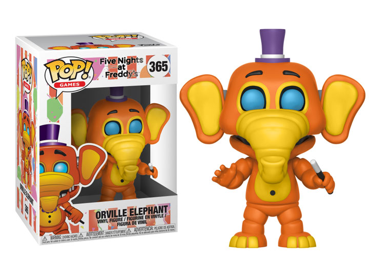 Pop Games Freddy Fazbear S Pizzeria Simulator Orville Elephant