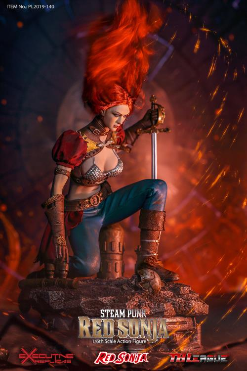 Red Sonja (Steam Punk) 1/6 Scale Figure