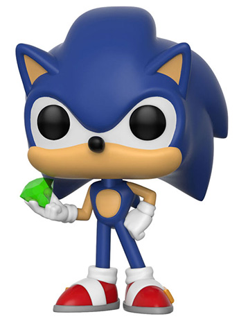 Pop! Games: Sonic the Hedgehog - Sonic (With Emerald)