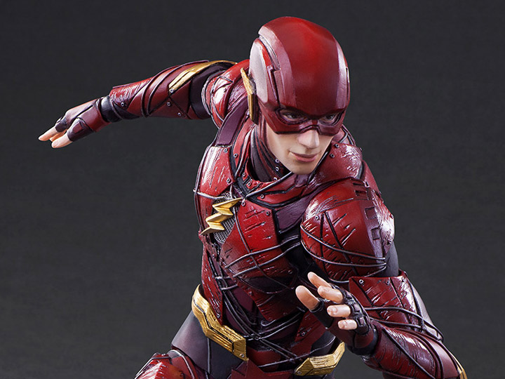 Justice League The Flash Action Figure Play Arts Kai Flash