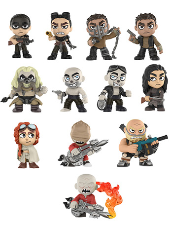 Mad Max: Fury Road Mystery Minis Box of 12 Figures