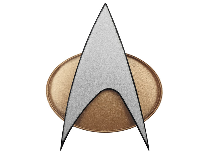 Star Trek The Next Generation Bluetooth Communicator Badge 30th