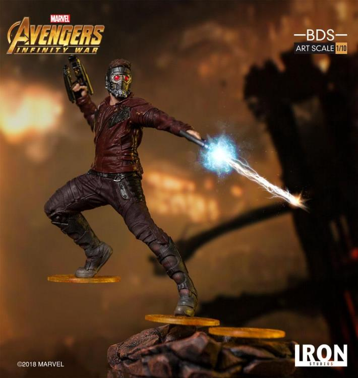 Avengers: Infinity War Battle Diorama Series Star-Lord 1/10 Art Scale Statue