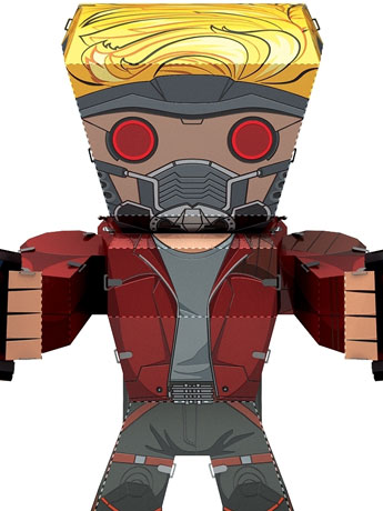 Guardians of the Galaxy Metal Earth Legends Star-Lord Model Kit