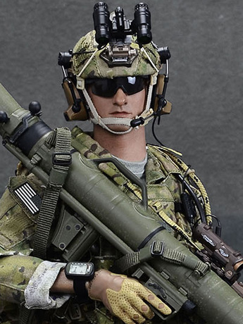 Special Mission Unit Tier-1 Operator Part VII (Original Color Weapon) 1/6 Scale Figure