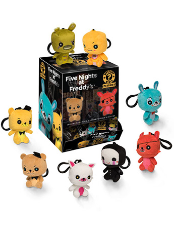 Five Nights at Freddy's Mystery Mini Keychain Plushies Random Plush
