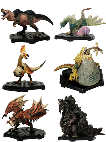 Monster Hunter Capcom Figure Builder Standard Model Plus Vol.9 Box of 6 Figures