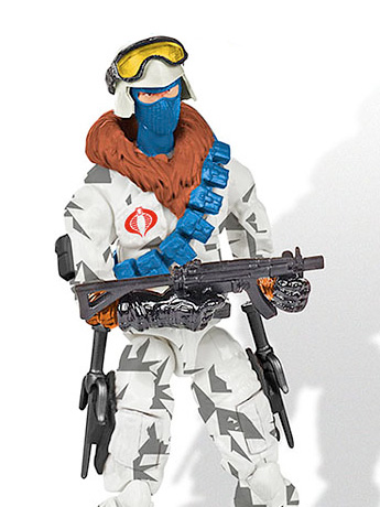 G.I. Joe Ice Viper Officer Subscription Figure 7.0