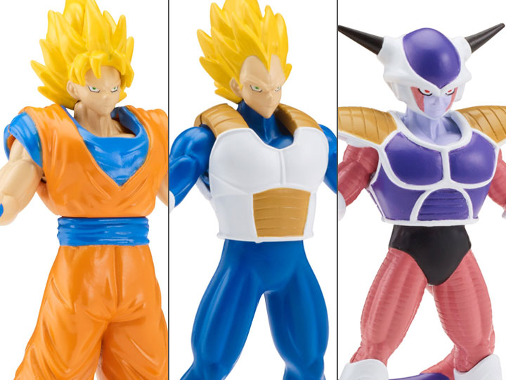 Dragon Ball Super Power Up Action Figure Set Of 3