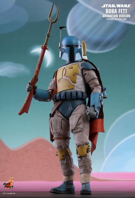 Star Wars Holiday Special Tms006 Boba Fett Animation Ver