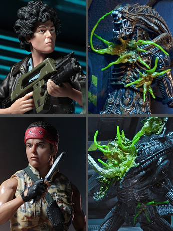 Aliens Series 12 Set of 4 Figures
