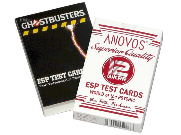 Ghostbusters ESP Test Cards