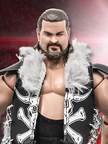 "Rising Stars of Wrestling Bull James 6"" Action Figure"