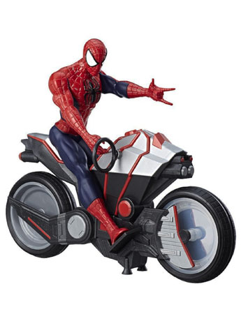Marvel Titan Hero Series Spider-Man & Spider Cycle
