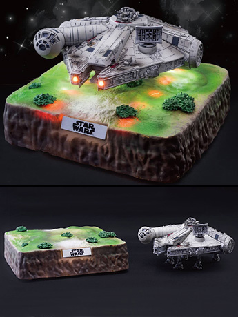 Star Wars Egg Attack EA-035 Magnetic Floating Millennium Falcon (The Last Jedi) PX Previews Exclusive