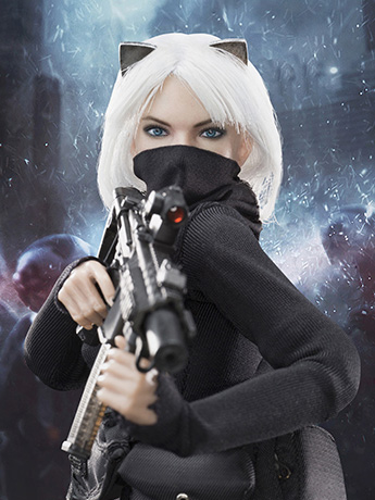 Female Assassin Catch Me 1/6 Scale Figure
